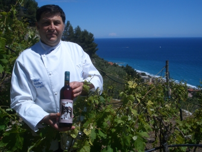 Lo chef in vigna