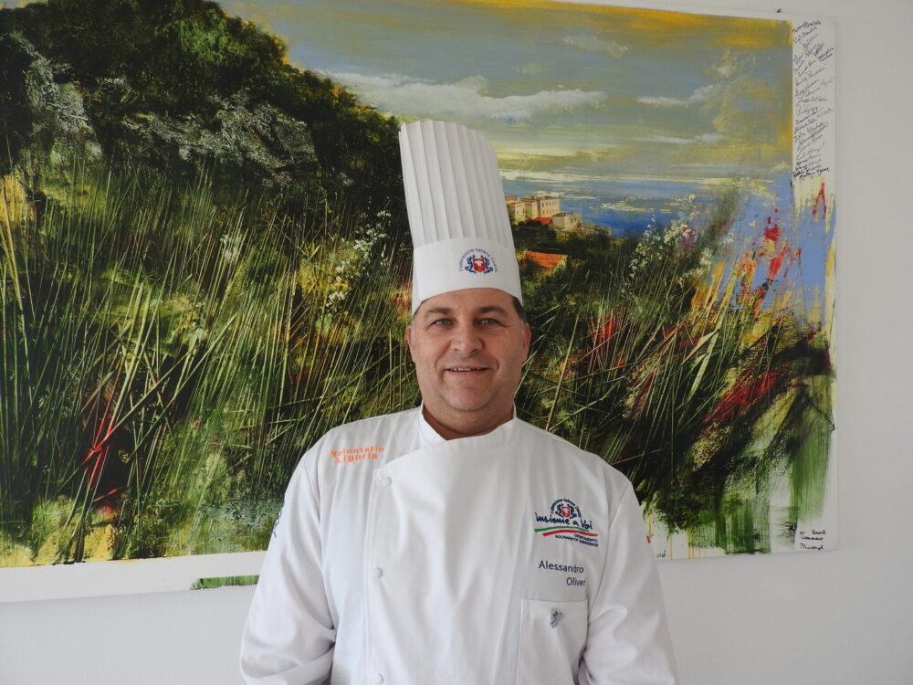 LO CHEF ALESSANDRO OLIVERI